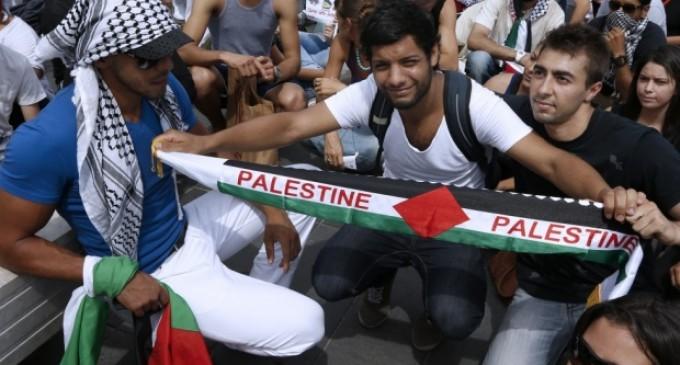 Демонстрации срещу израелската офанзива в Ивицата Газа