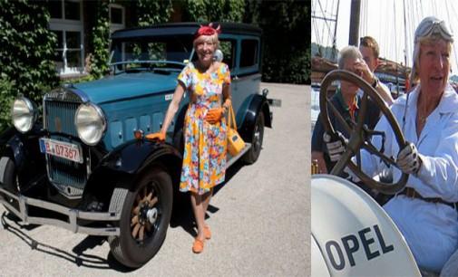 77-годишна германка на околосветска обиколка