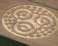 Мистериозни кръгове в нива в Южна Германия