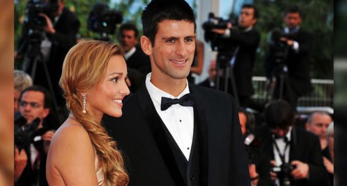 Новак Джокович се ожени на стилна церемония
