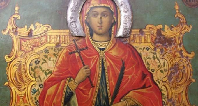 Света Марина и нейната саможертва за вярата