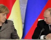 Меркел е призовала Путин да спре доставките на оръжие в Украйна