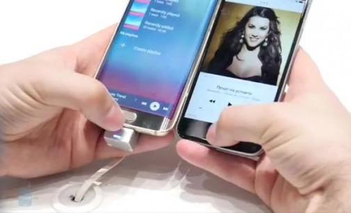 Чалга дива в презентация на нови мобилни телефони
