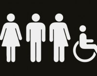 Третият пол изобразен на табела