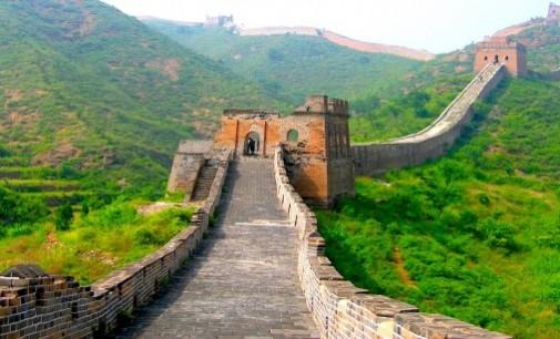 Великата китайска стена бавно изчезва