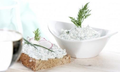Здравословна салата Снежанка по време на диета