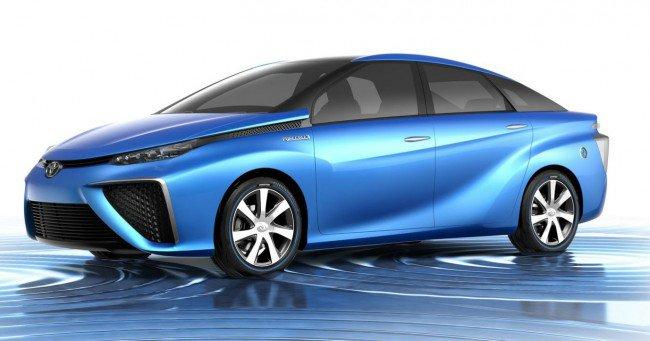 Тойота с водороден двигател
