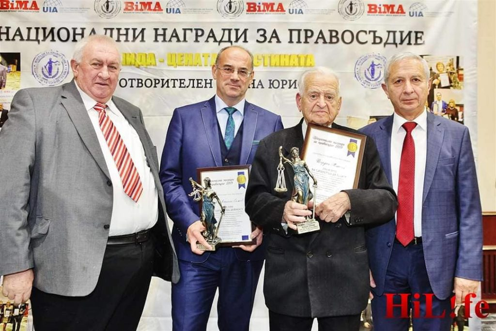 Проф. Атанас Семов и 91-годишният адвокат Йордан Минчев